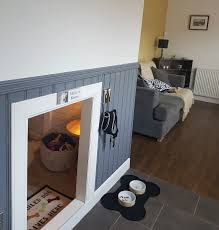 Dog bedroom furniture Wood Our Dog Was Getting Human Sister So Built Her Room Under The Bedroom Ideas Design And Decorating Ideas Dog Bedroom Cute Cabinet Alternative Earth