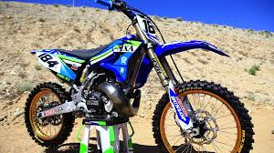 yamaha yz250. trick 2015 yamaha yz250 2 stroke project - motocross action magazine youtube yz250