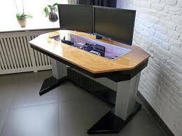 adjule custom computer desk mod fit for a true geek custom nice custom computer desk designs