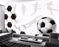 Beibehang Custom Elke Grootte Muur Papier Sport Voetbal Grote