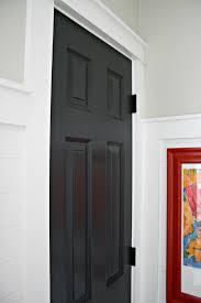 black door white trim