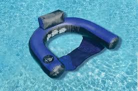 inflatable pool furniture. Swimline Floating Inflatable Fabric Covered U-Seat Pool Float Furniture O