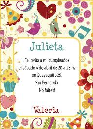 Invitaciones De Cumpleaños Para Imprimir Gratis En Casa O El
