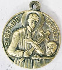 details about vintage souvenir religious saint gerard majella m19