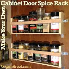 Lowes Spice Rack Adorable Cabinet Door Spice Rack Make Your Own Lowes 32Depth