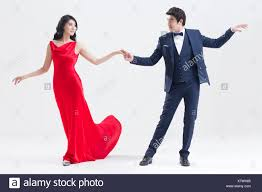 Elegant interracial teen wow couple