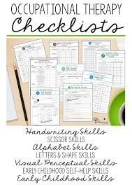 Documentation Data Collection For Pediatric Occupational
