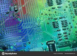 Digital Hardware Design Engineer Electronics Engineering Motherboard Digital Data Stock