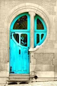 turquoise front door26 Bold Front Door Ideas In Bright Colors  Shelterness