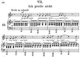 ich grolle nicht sheet music ich grolle nicht op 48 no 7 medium voice in c major r schumann