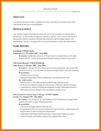 Professional Resume Objective 9 10 Resume Objective Examples For All Jobs