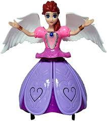 Buy Toyshine Dancing <b>Angel Girl</b> Robot with Lights and Music ...