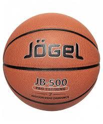 Купить Баскетбольный <b>мяч Jogel JB</b>-500 <b>№7</b>, р. 7 коричневый по ...