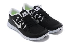 nike running shoes black and white. nike free 5.0 womens black and white run running shoes n