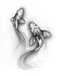Koi Fish эскизы идеи для татуировок глифы тату и татуировки рыбы
