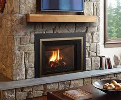 regency lri6e bronze framed gas fireplace insert with stone hearth and surround