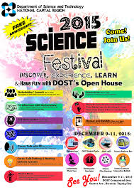 Dost Ncr To Hold The 2015 Science Nation Celebration Psm