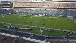 seat view for lincoln financial field section c3