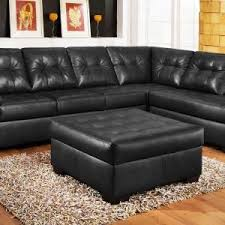 Italian Leather Sectional sofa Chaise Unique Black Leather Sectional