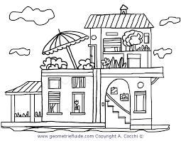 Eccezionale Casa Disegno Colorato Migliori Pagine Da Colorare E