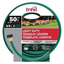 bond 5 8 x 50 light duty garden hose