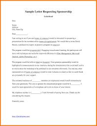 Proposal Letter For Sponsorship Sample For Event Sample Of Sponsorship Letter Pin By Proposal Samples Usa On