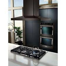 samsung black stainless range hood. Simple Stainless Island Canopy Range Hood In Black Stainless In Samsung N