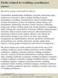 front desk hospital job description new top 8 wedding coordinator resume samples
