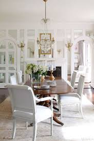 pictures of dining rooms. House Tour: Glamorous Richmond Home. White Dining RoomsWhite Pictures Of Rooms
