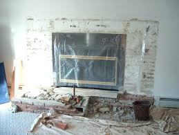 remove brick fireplace demolishing the brick hearth how to remove a mantle from brick fireplace