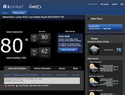 lennox wall thermostat. icomfort wifi thermostat-web thermostat lennox wall