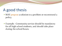 Topics For Proposing A Solution Essay Problem Solution Essay Thesis