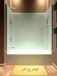one piece bathroom shower tub combo bathtubs bathtub small inch 1 b