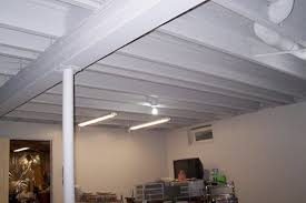 basement ceiling ideas on a budget. Image Of: Basement Ceiling Ideas On A Budget White