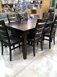 unique dining room furniture. Costco Dining Table Set Chairs Room Sets Kitchen Unique Tables 9 Piece Uk Furniture