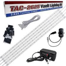 Executive Gun Safe Lighting Kit W Motion Switch Tac 1575 Vault Lighting Kit For Any Gun Safe Light My Safe