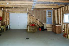 Garage Interior Designs Located In The Basement To Use The Stairs - House with basement garage