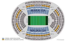 Aloha Stadium Seating Chart Related Keywords Suggestions
