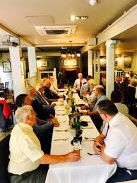 the white horse southsea rugby lunch and buffet food