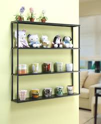 Small Picture Amazoncom Wall Mounted Steel Shelving Unit 36 H x 36 W x 6