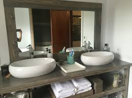 Made To Order Bathroom Cabinets Rustic His And Hers Bathroom Vanity Bathroom Vanity Vanity