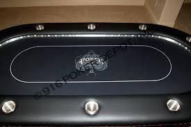 custom poker tables. High Stakes Custom Poker Table Black Octagon Tables