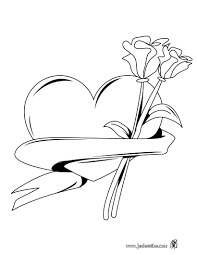 Dessin Dune Rose Rouge Resultats Daol Image Search Coeur Et Roses