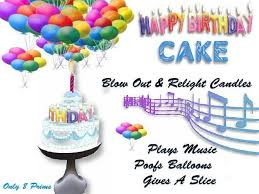 happy birthday images animated second life marketplace happy birthday cake music balloons
