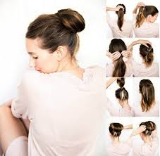 10 easy bun updos tutorials for 2016