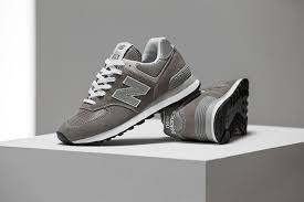 Introducing the New Balance 574 Sneaker in Iconic Grey | Elle ...