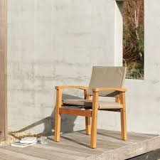 Devon Barker Outdoor Chair - Latte – Greenslades Furniture