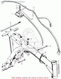 Honda z50a mini trail 1972 z50ak3 usa ignition coil wire harness