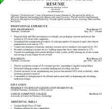 Pharmacy Tech Resume Objective Trezvost