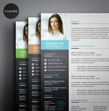 Free Clean Cvresume Template On Behance